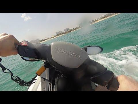 Jet ski in Tunisia