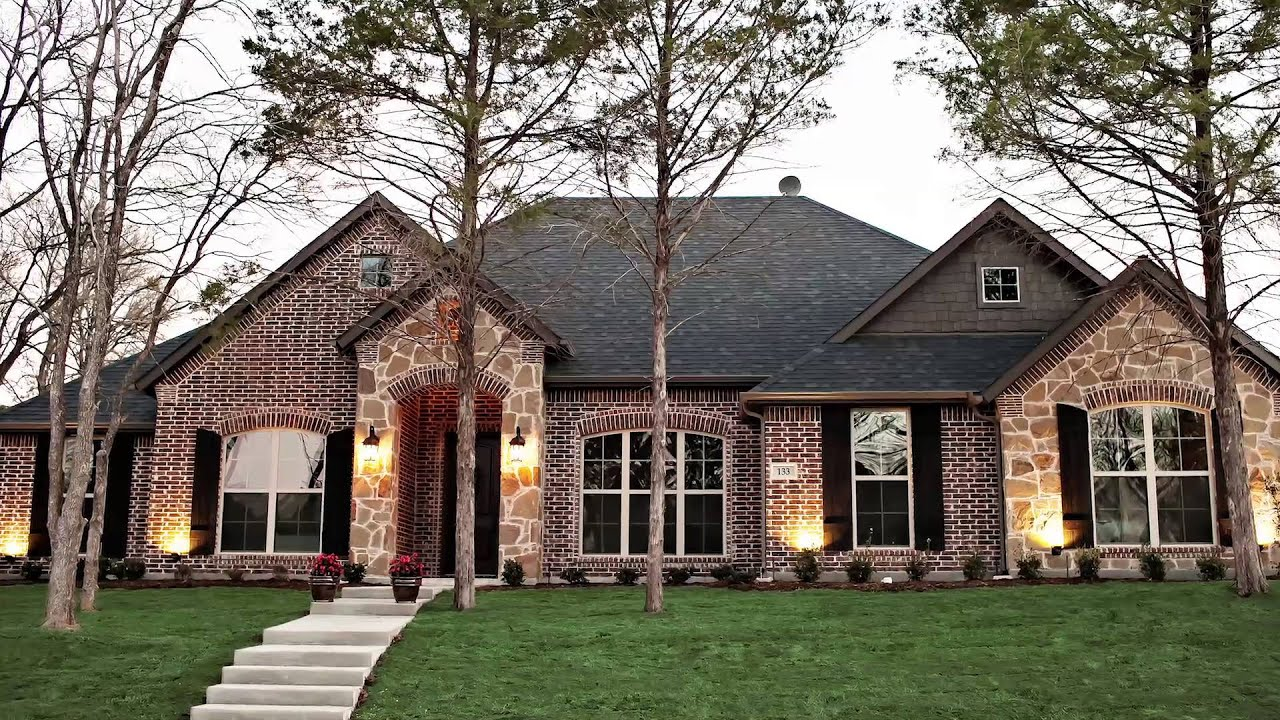 John houston custom homes youtube for Custom homes photos