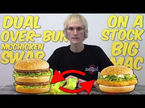 Dual Over Bun McChicken Swap Stock Big Mac