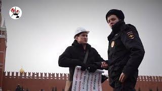 Лукавый пикетчик с ФОРЭСа к Навальному подался