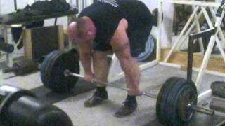 trning 2011Nikolaj The Monster doing 10 reps deadlift on 240kg with overhand grip