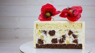 ТОРТ ПАНЧО ПО НОВОМУ РЕЦЕПТУ. Торт который очень легко готовить с красивым разрезом. Простой торт