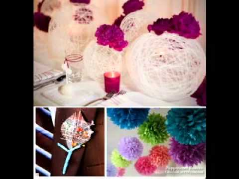 Do It Yourself Wedding Decor Ideas Youtube