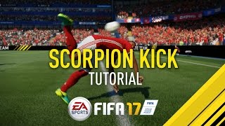 FIFA 17 | SCORPION KICK TUTORIAL | PS4/XBOX ONE thumbnail