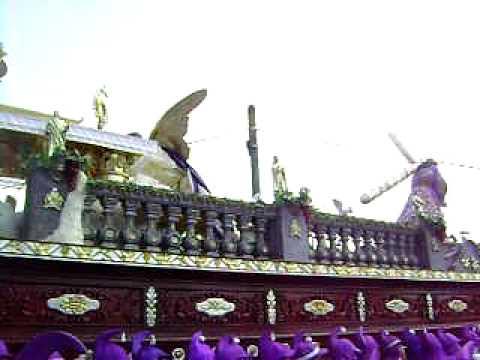 Jueves Santo 01 de Abril 2,010 Jesus de Candelaria Cristo Rey.