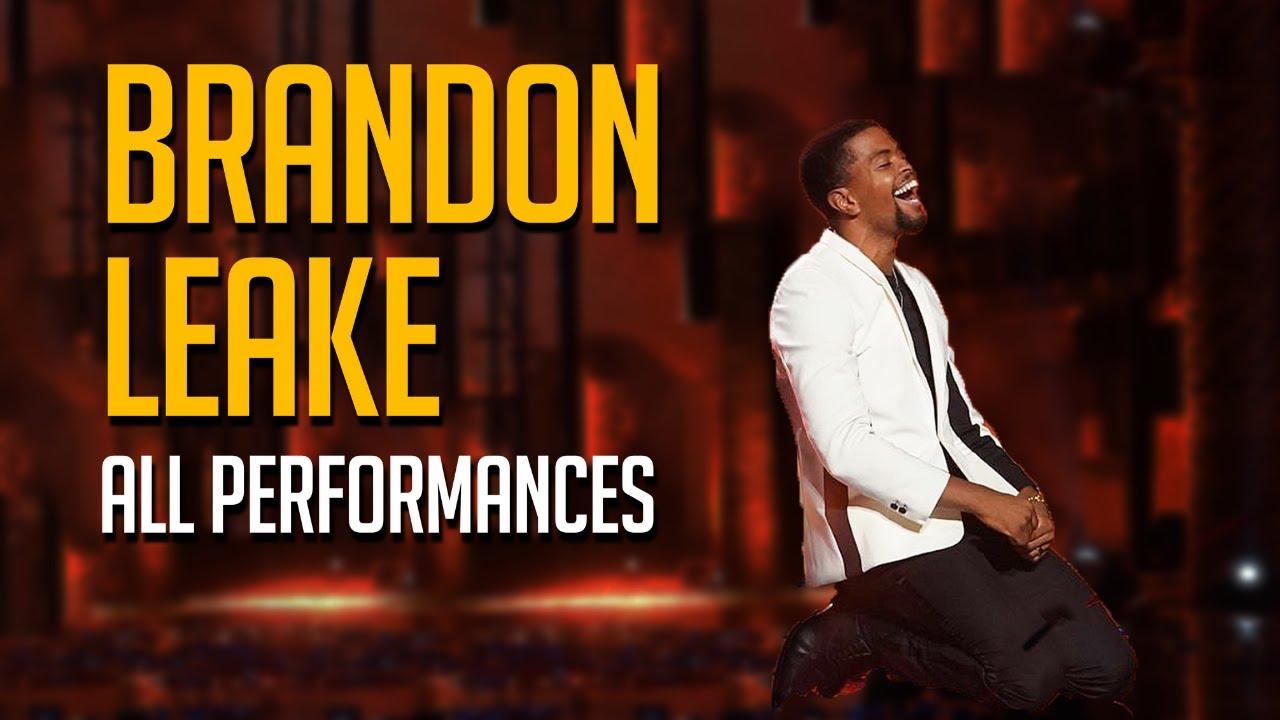 WINNER Brandon Leake All Performances on America's Got Talent!