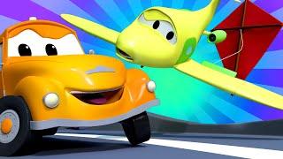Эвакуатор Том - Летний спецвыпуск - Запускаем воздушного змея - детский мультфильм