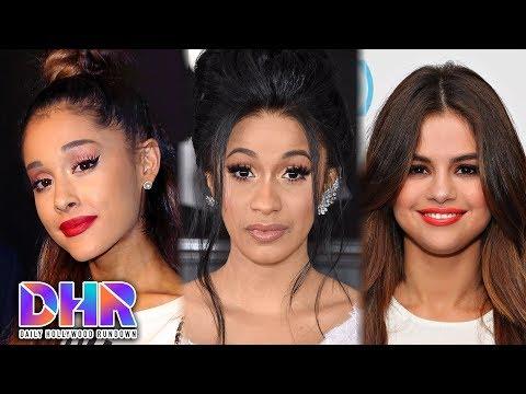 Ariana Grande SHADES Cardi B?! - Selena Gomez LOSES No. 1 Spot On Instagram (DHR)