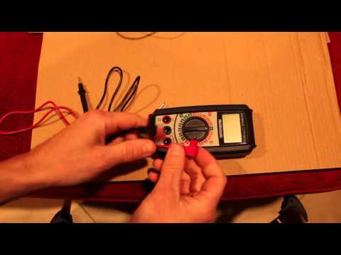 Mastercraft Multimeter Test Lead Replacement YouTube