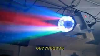 8 Heads Gobo LED светодиодная светомузыка