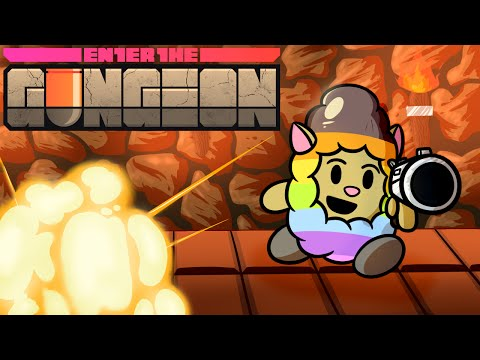 Enter The Gungeon / CO-OP WITH THE GIRLFRIEND - Playthrough