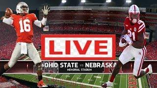 Ohio State Buckeyes vs Nebraska Cornhuskers LIVE HD | College Football LIVE | September 28, 2019