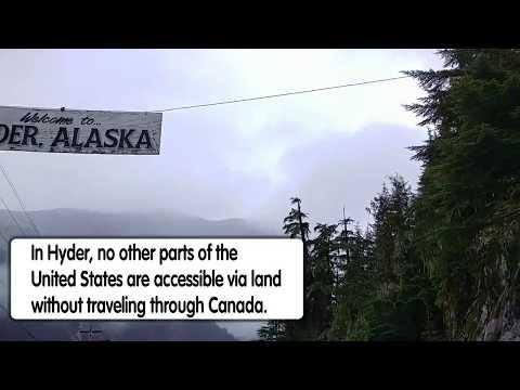 Western Canada and Hyder, Alaska