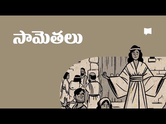సారాంశం: సామెతలు Overview: Proverbs