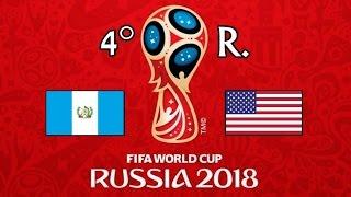 GUATEMALA v. EE.UU. - CONCACAF 2018 FIFA World Cup - GRUPO C