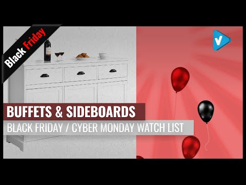 Best Buffets & Sideboards To Buy On Black Friday 2019 | Amazon Black Friday Week