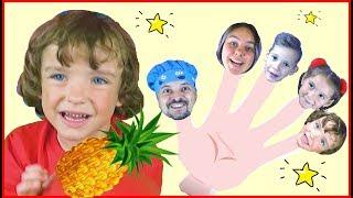 Daddy finger Fruit song- Hello Makar