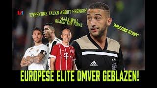 Engelse media Lovend over Ajax: 'De Europese Elite is Omver Geblazen'