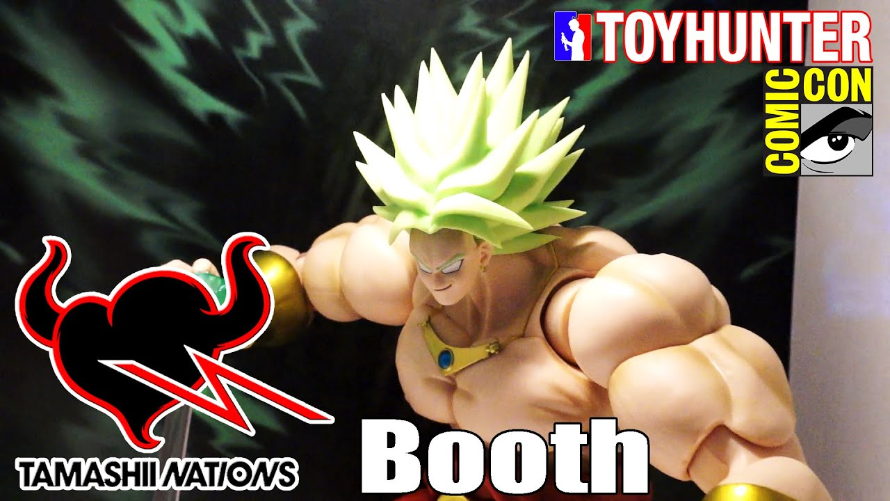 Tamashii Nations Booth San Diego Comic Con 2016