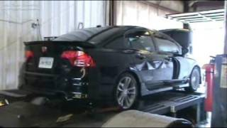 Comptech Supercharged 2008 Civic Si - Dyno Day