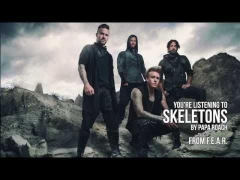 Клип Papa Roach - Skeletons