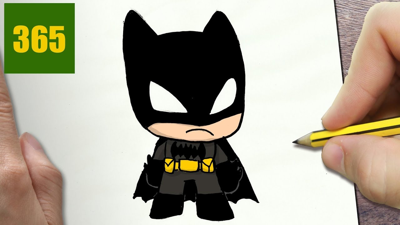 Come disegnare batman kawaii passo dopo passo disegni kawaii facile youtube - Dessiner batman ...