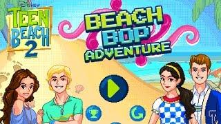 teen beach 2 beach bop adventure fancy dancing gameplay