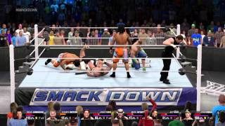 WWE 2k15 FAILS - BS ELIMINATION & EXORCISM
