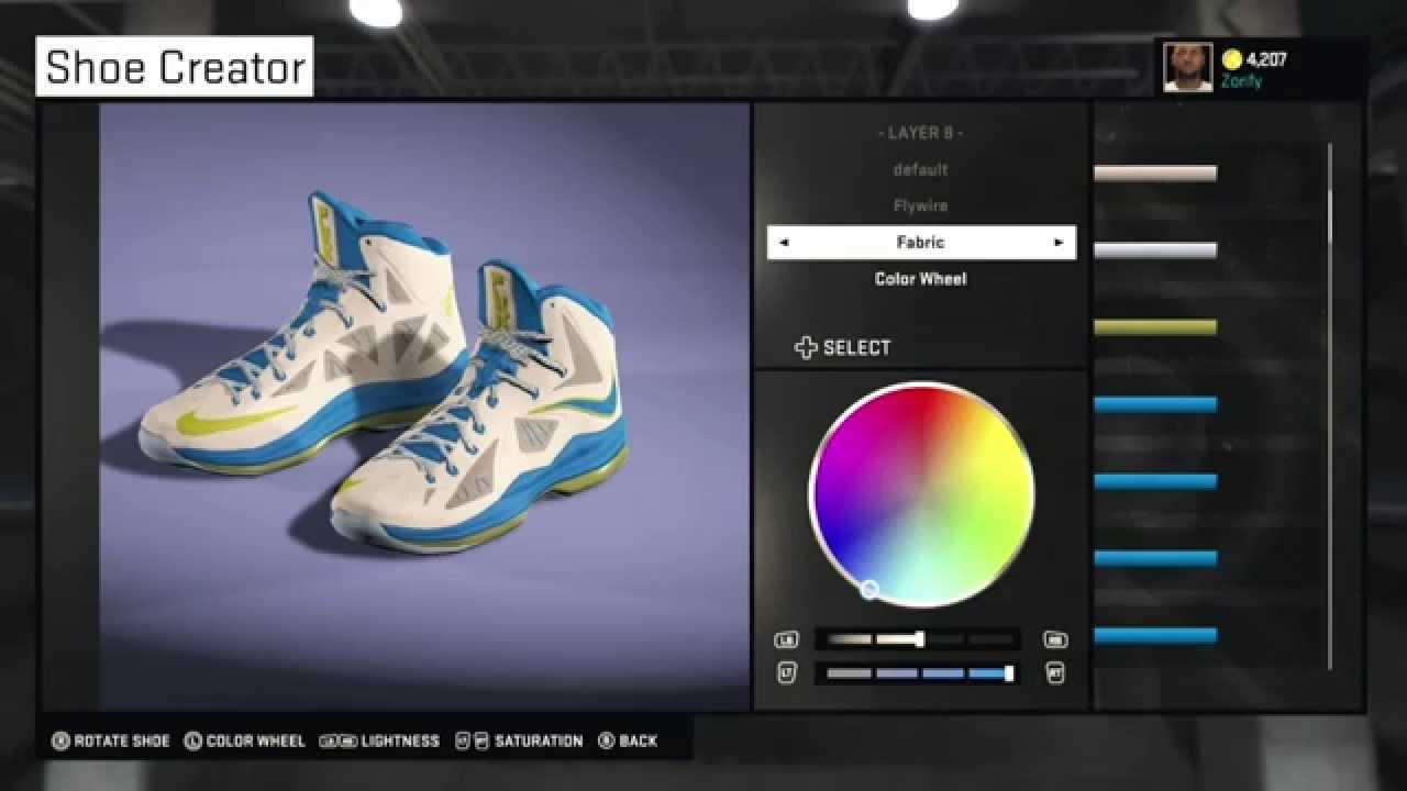 dc517d6a923 NBA 2K15 Shoe Creator - Nike LeBron 10 PE