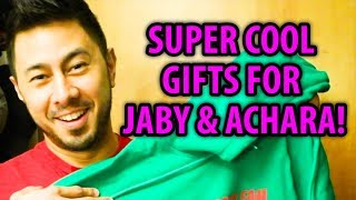 SUPER COOL GIFTS FOR JABY & ACHARA!