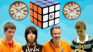 History Of Rubik's Cube World Records