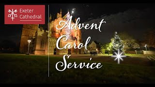 ADVENT CAROL SERVICE FROM EXETER CATHEDRAL