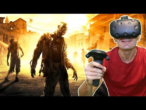 DEAD RISING IN VIRTUAL REALITY? | ZomDay VR HTC Vive & TPCAST Gameplay + Giveaway