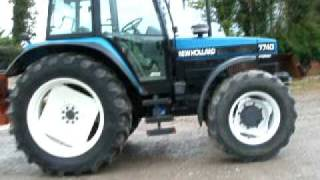 New Holland 7740 Tractor