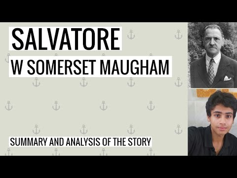 Salvatore By William Somerset Maugham Summary And Analysis For Great Marks