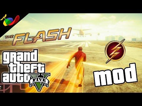 GTA 5 MOD ITA - Flash Cazzeggio EPICO!!