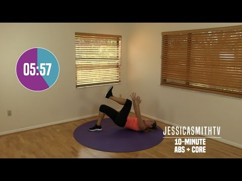 10 Minute Abs Workout At Home Abdominal, Oblique, Core Strength Exercises All Levels No Equipment