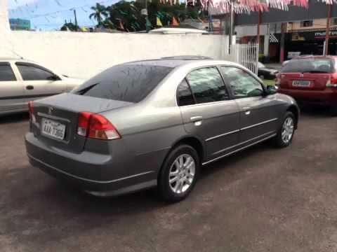 HONDA CIVIC 1.7 LXL SEDAN 16V 4P 2004   Carros Usados E Seminovos   NISA  MULTIMARCAS   Curitiba PR