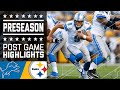Lions Vs. Steelers   Post Game Highlights   Nfl video