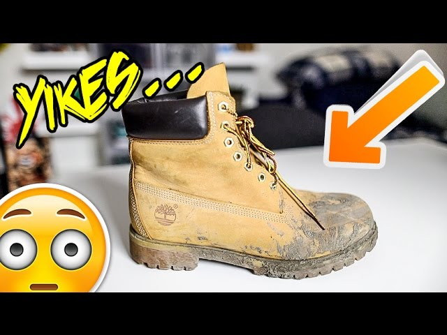 TO CLEAN TIMBS/SUEDE/NUBUCK TUTORIAL