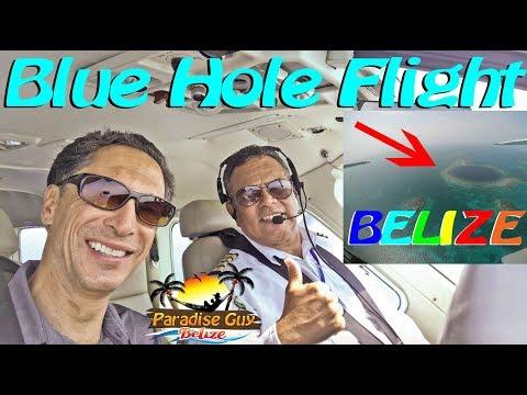 Maya Island Air Blue Hole Flight Belize 2019 - Paradise Guy