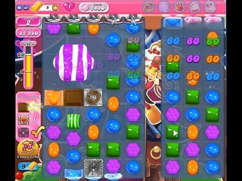 Candy Crush Saga Level 1490 ★★★ NO BOOSTER