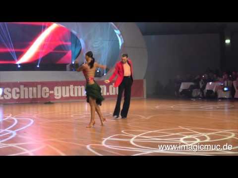 Stefano Di Filippo& Dasha - Cha Cha Cha - Euro Dance Festival 2015