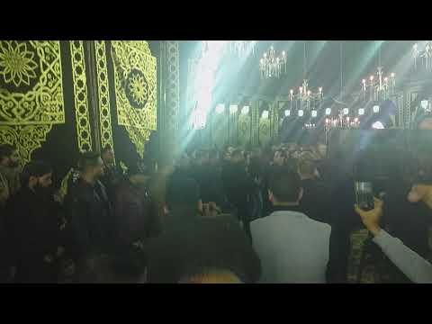 الفنان حكيم يحضر عزاء الفنان شعبان عبدالرحيم بمسجد البشبيشي  - 19:58-2019 / 12 / 4