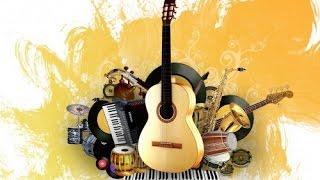 Музыкальные инструменты. Учим слова. Для детей.1-3 года. Развивающий мультик для детей.
