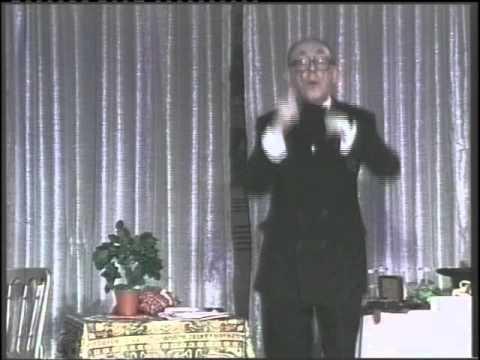 Ali Bongo Lecture by International Magic - The Magic Attic