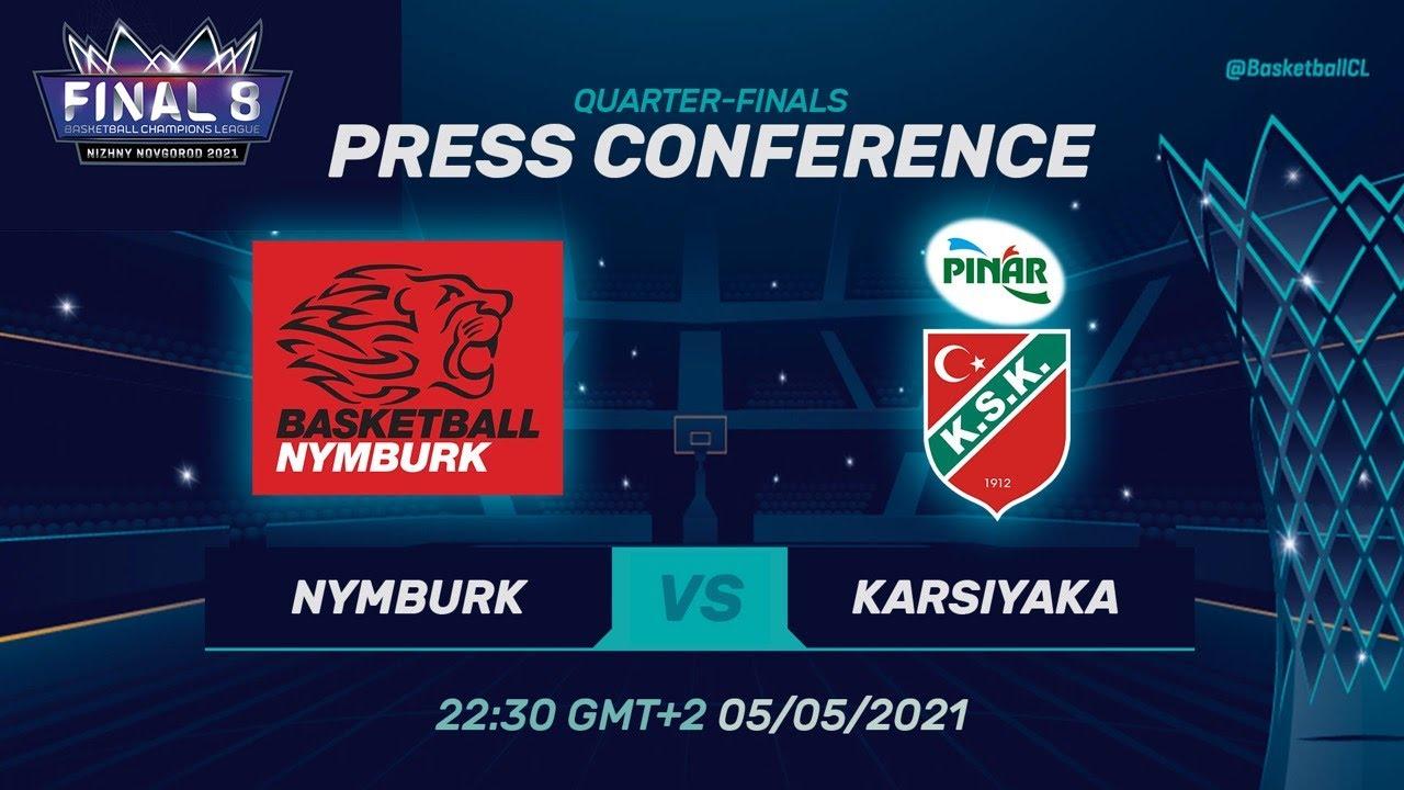 ERA Nymburk v Pinar Karsiyaka - Press Conference | Basketball Champions League 2020/21