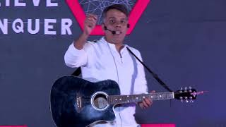 India's First & Only Guitar Playing Motivational Speaker | Vineet Tandon | TEDxIIFTDelhi