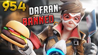 HERE'S WHY DAFRAN IS NOW *BANNED*!!! | Overwatch Daily Moments Ep. 952 (Funny and Random Moments)