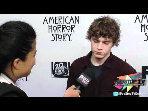 """Evan Peters """"Tate"""" Talks """"American Horror Story"""" Season 2!"""